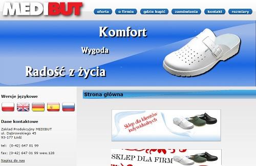 fa9a674c94a74 Nasza firma Medibut specjalizuje się w produkcji atestowanego obuwia  medycznego i zawodowego. W bogatym asortymencie znajdują się modele damskie  i męskie, ...